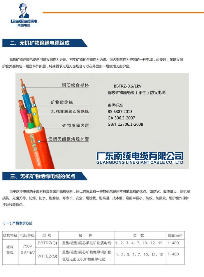 广东南缆 矿物质55nba直播在线直播